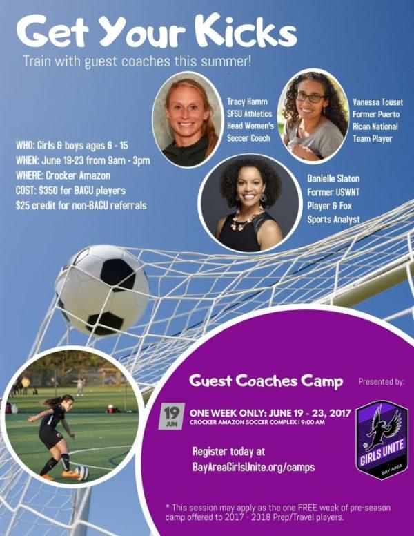 Camps & Clinics – Bay Area Girls Unite