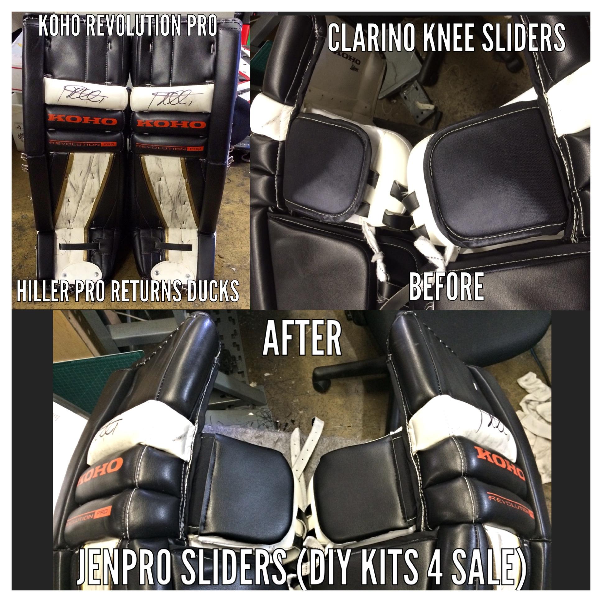 Bahr Goalpad Knee Slider Covers Fits Reebok Premier 4 Senior Leg