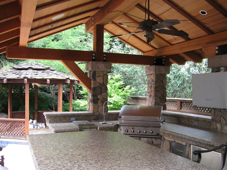 Patio Covers | Covered Patio | Bay Area Roofers | Clear ... on Patio Cover Ideas Wood id=38289