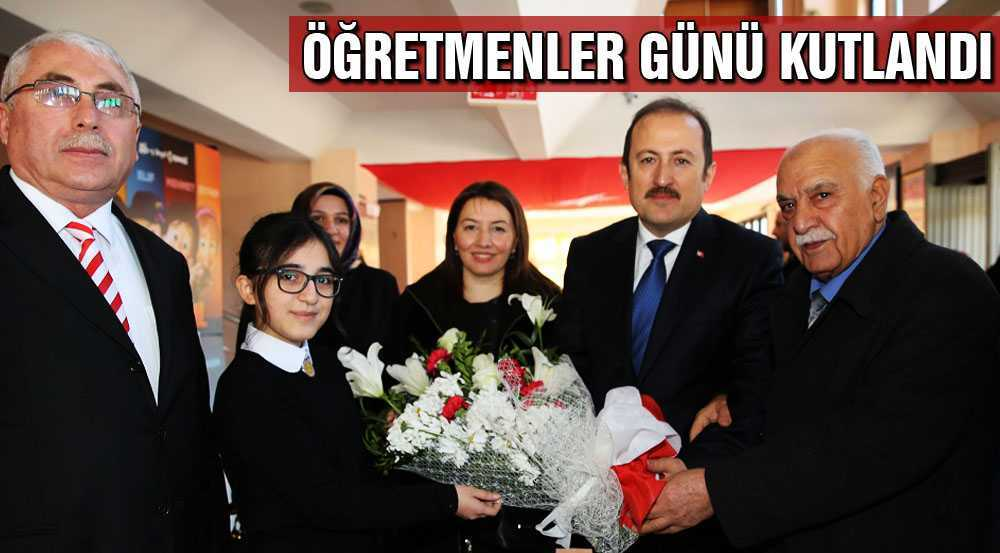 Bayburt'ta 24 Kasım Öğretmenler Günü Etkinliklerle Kutlandı