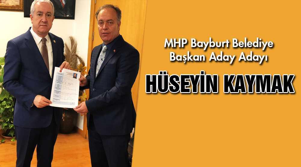 Hüseyin Kaymak, MHP'den Belediye Başkan Aday Adayı Oldu