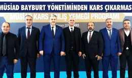 MÜSİAD Bayburt Yönetiminden Kars Çıkarması