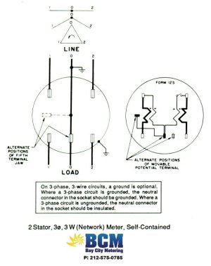 Wiring Diagrams  Bay City Metering NYC