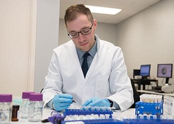 Brandon Miller Performing Laboratory Urine Drug Tests