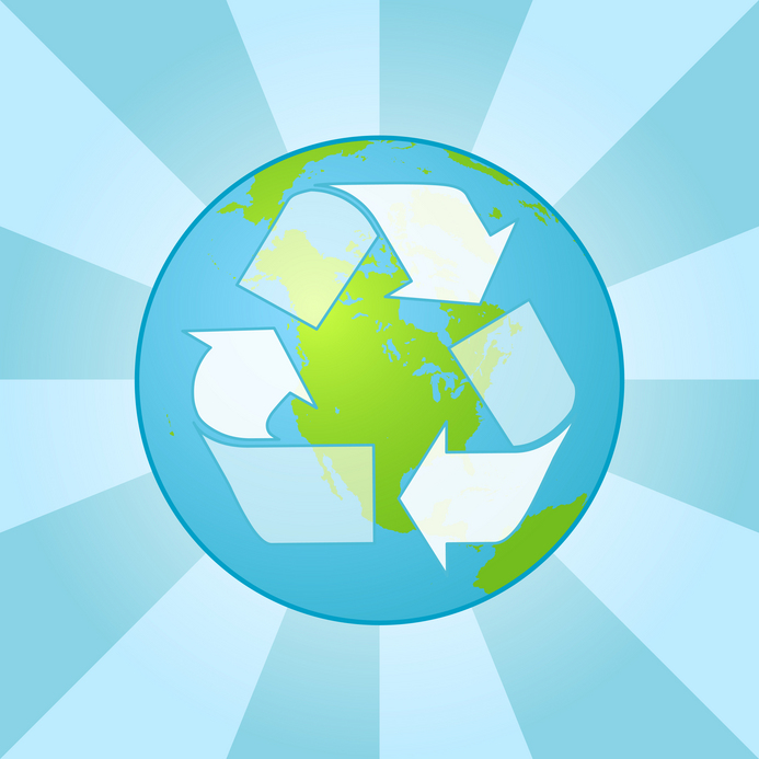 Maybe it sounds lame, but recycling actually does make a huge               difference!