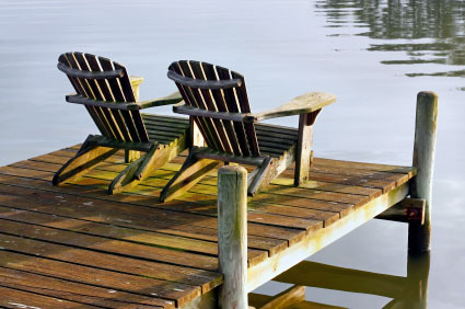 [headline]St. Michaels Vacation Rentals[/headline] Dock Two Chairs