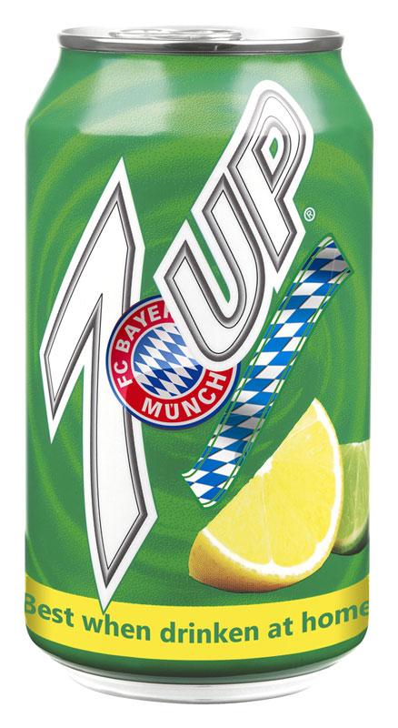Bayern Munich 7 Up drink