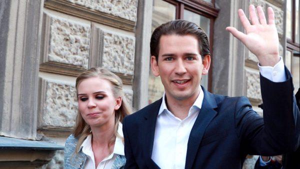 171015 VIENNA Oct 15 2017 Sebastian Kurz leader of Austria ...