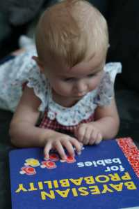 "Book Review of ""Bayesian Probability for Babies"""