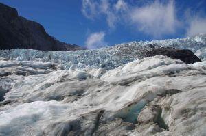 Südinsel St. Joseph Gletscher