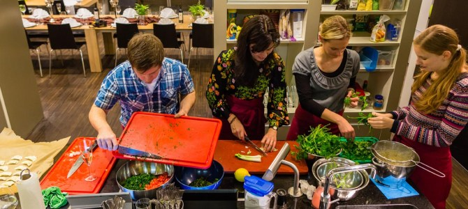 Mezze-Kochevent mit Microsoft