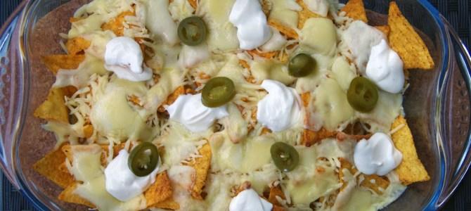 Nachos mit Käse – wie beim Mexikaner