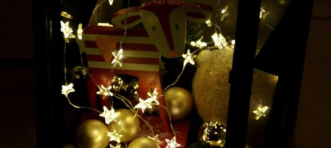 Weihnachts-Laterne