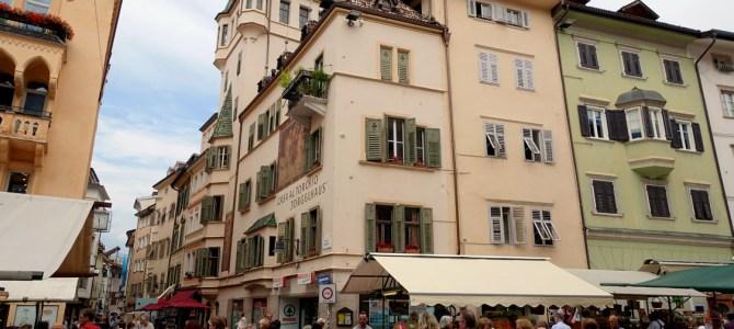 Impressionen aus Bozen, der Landeshauptstadt Südtirols