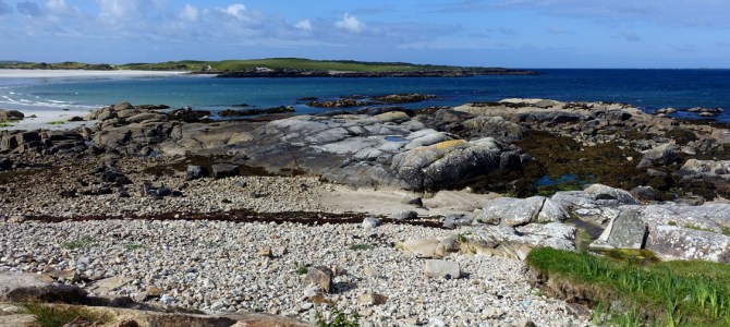 Irlands Strände: Ballyconeely Bay