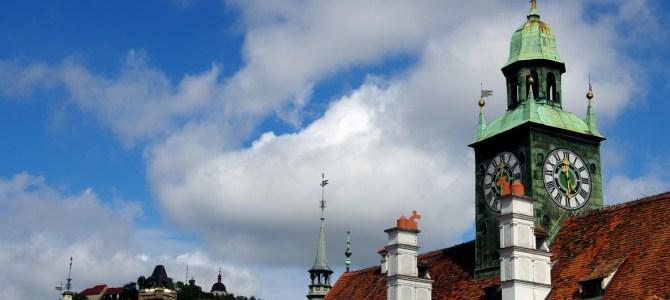 Ein Tag in Graz: Kunsthaus, Zeughaus und das Aufsteirern