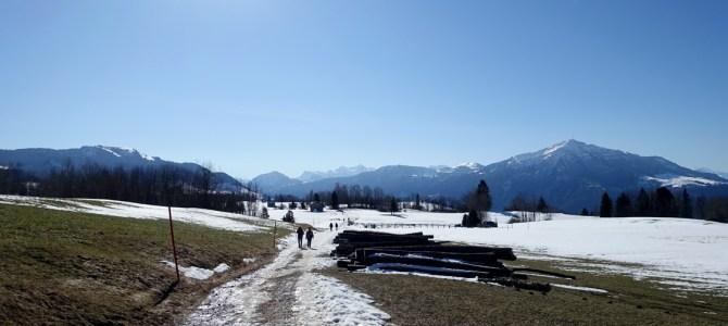 Winterwanderung am Zugerberg