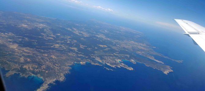 Anflug auf Mahón, Menorca von oben und die Zukunft der Schweizer Regionalflughäfen