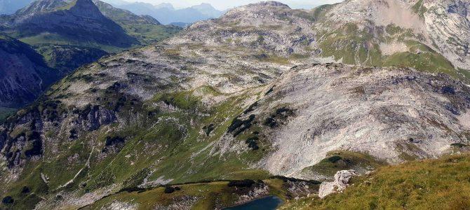 Von Hütte zu Hütte auf der Lechquellrunde: 2. Etappe von der Göppinger zur Freiburger Hütte