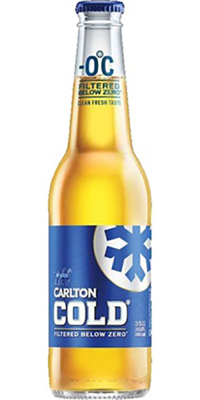 Carlton Cold stubby 355ml