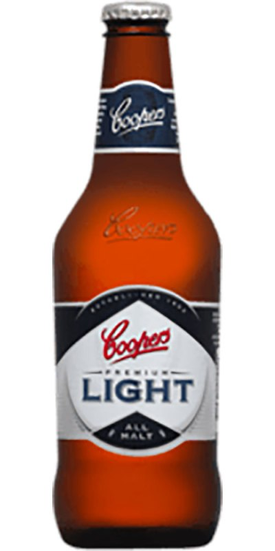 Coopers Light stubby 375ml