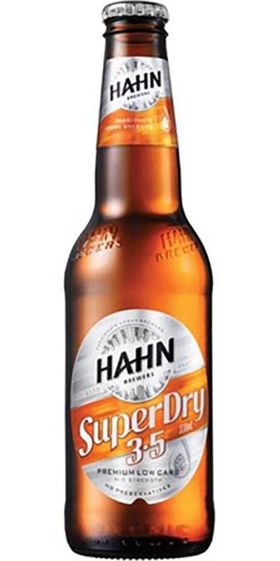 Hahn Super 3.5 Bottle 330ml