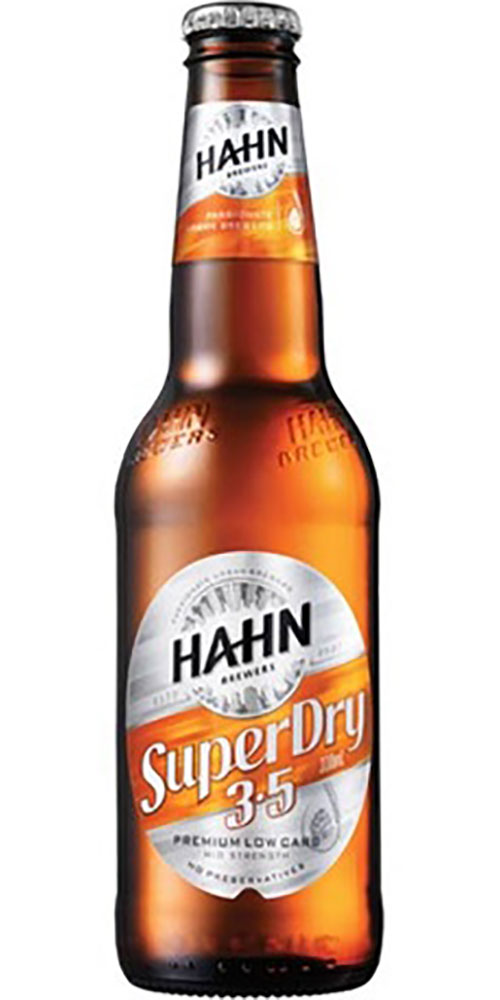 Hahn Super 3.5 Bottle 330ml