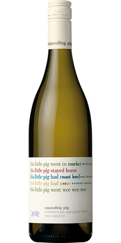 Squealing Pig Marlborough Pinot Gris 750ml