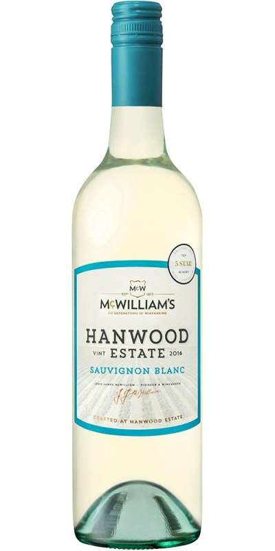 McWilliams Hanwood Sauvignon Blanc 750ml