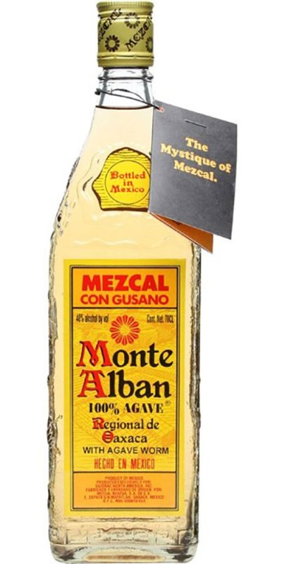 Monte Alban Mezcal Tequila 700ml