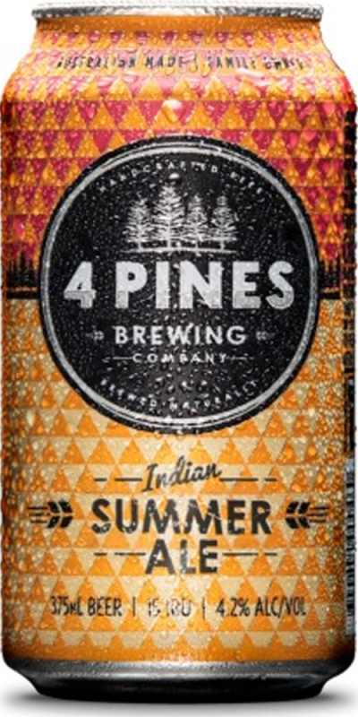 4 Pines Indian Summer Pale Can 24 x 375ml (Carton)
