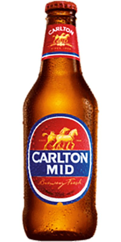 Carlton Mid stubby 375ml