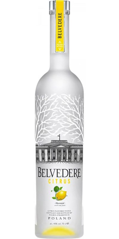Belvedere Citrus Vodka 700ml
