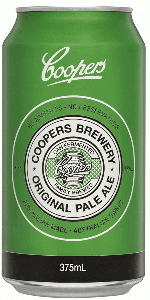 Coopers Pale Ale Cans 375ml (carton)