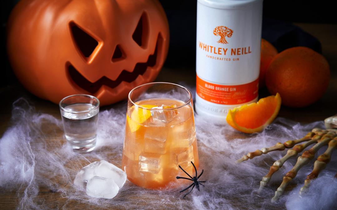 The Bayfield's Halloween Blood Orange Cocktail