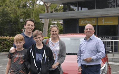 Congratulations To The Deacon Family – Winner Of Our MG Car Competition