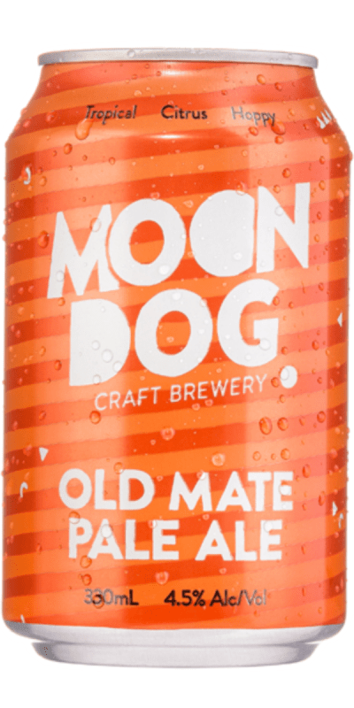 Moon Dog Old Mate Pale Ale 330ml Bayfields Liquor Superstore