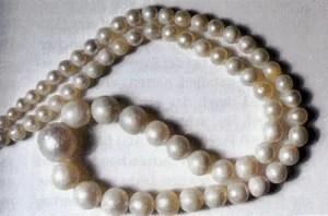 Perlenkette Foto: M.Steinbiß