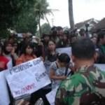 Verletzung der Pressefreiheit in Indonesien