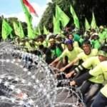 Versuch Präsidentenpalast zu stürmen
