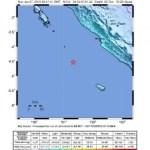 Erdbeben 5,8 vor der Küste Süd Sumatra