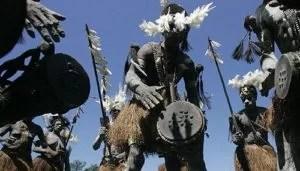 Die Ureinwohner des indonesischen Teils von Papua haben bisher ohne Erfolg mehr Rechte gefordert. (Bild: Reuters)  Fotoquelle: nzz.ch