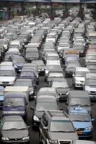 So sieht es größtenteils auf Jakartas Straßen aus Fotoquelle: Jakarta Post