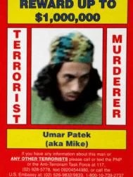 Umar Patek, alias Mike, auf dem US-Fahndungsplakat. Die Belohnung bei Festnahme: bis zu 1 Mio Dollar  Foto: AP Fotoquelle: bild.de