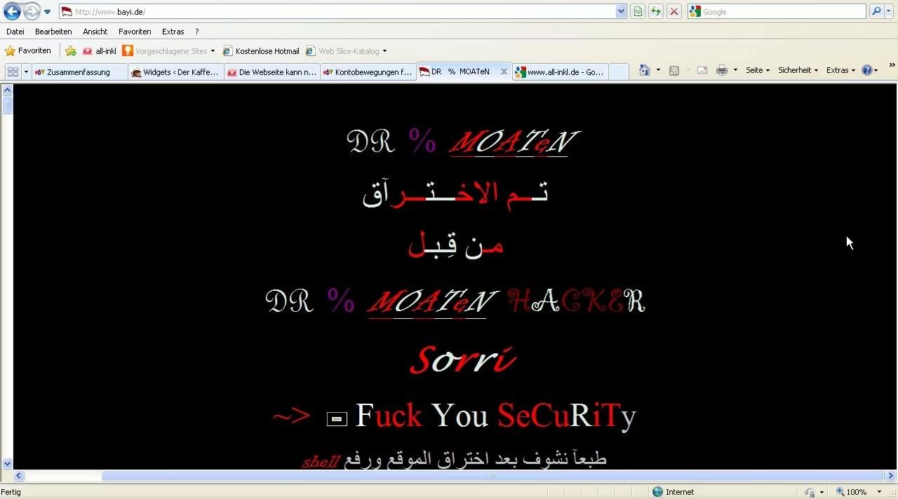 Startseite vom 07.03.2011