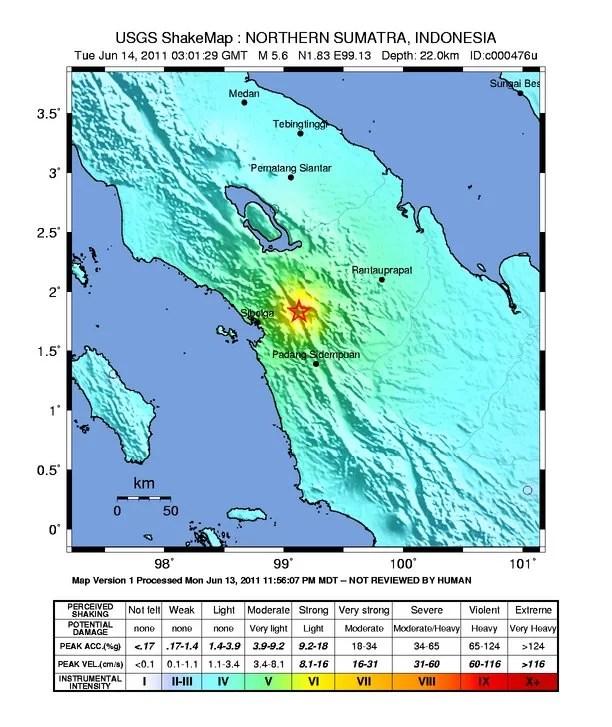 Grafikquelle: http://earthquake.usgs.gov