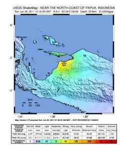 Epizentrum Quelle: earthquake.usgs.gov