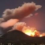 Vulkanausbruch auf Sulawesi