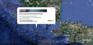 Epizentrum Quelle: Google Earth