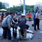 Selbstverbrennung vor dem Präsidentenpalast